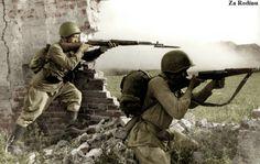 Soviet soldiers - Voronezh ww2