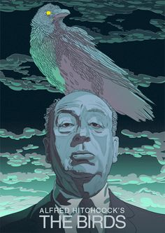 Animated Gif - Movie Poster - The Birds