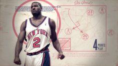 NBA Vintage Project by BIIMPROD , via Behance