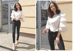 Christina D. - white blouse
