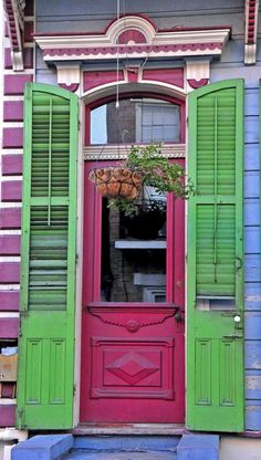 Found this door in the French Quarter, New Orleans, Louisiana, USA.