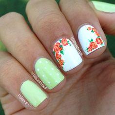 Floral & mint