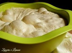 Pizza dough by Gabriele Bonci Ginger and lemon Focaccia Pizza, Pizzeria, Dough Recipe, Pizza Dough, Sweet And Salty, Biscotti, Italian Recipes, Love Food, Food And Drink