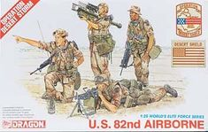 1/35 US 82nd Airborne (dml3006) DML Plastic Model Military Figures