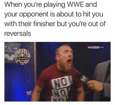 Me right now  Speaking of WWE games, who pre-ordered WWE 2K18? Because I pre-ordered the deluxe edition, and I'm pretty hyped  I wish I could of gotten the Cena (Nuff) edition, but honestly I'm just hyped asf to play the game.    #kevinowens #romanreigns #braunstrowman #sethrollins #ajstyles #deanambrose #randyorton #braywyatt #jindermahal #baroncorbin #charlotte #dolphziggler #shinsukenakamura #wwe2k18 #johncena #sashabanks #brocklesnar #shanemcmahon #enzoamore #alexabliss #themiz…