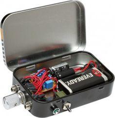 DIY altoids tin headphone amp
