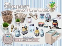The Sims Resource: Bathroom Charms by SImcredible • Sims 4 Downloads