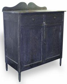 Southern yellow pine dresser