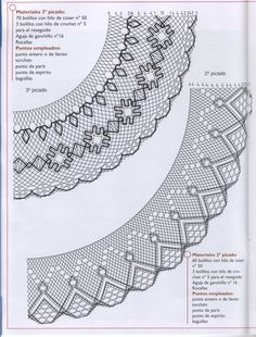 Archivo de álbumes Bobbin Lace Patterns, Lacemaking, Couture, Crochet Lace, Diy And Crafts, Crochet Necklace, Cross Stitch, Quilts, Embroidery