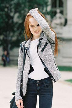 #gray #jacket #blazer #trim #blacktrim #coat #blazer