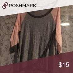 Tshirt Cute thin long sleeve t barely worn Monteau Tops Tees - Long Sleeve