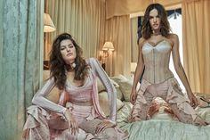 Fashiontography: Alessandra Ambrosio & Isabeli Fontana by Mariano Vivanco