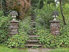 Secret Gate and Woodland Path