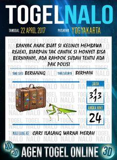 Angka Ikut 5D Togel Wap Online TogelNalo Yogyakarta 22 April 2017