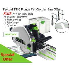 Festool TS55 110v Plunge Cut Circular Saw Offer