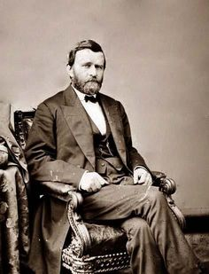 Ulysses S. Grant-b1822 #18=1869(47)-1877(55) d1885(63)