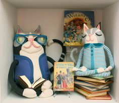 Kitties  for Johns Hopkins Children's Center by Cotton Monster, via Flickr