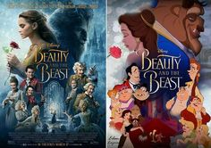 Beauty and the Beast Then (1991) and Now (2017)