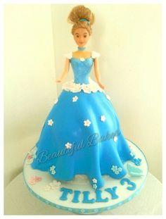 Cinderella themed dolly varden