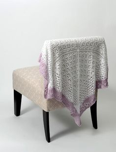 Lace Sampler Baby Blanket | Craftsy