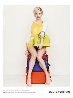 Michelle Williams' Louis Vuitton Campaign Is Gorgeous — Duh #Refinery29