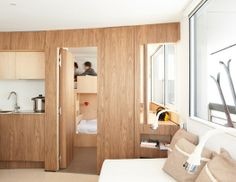 The Cabin / architects Refuge, Architecture, Tall Cabinet Storage, Entryway, Interior, Room, Furniture, Design, Home Decor