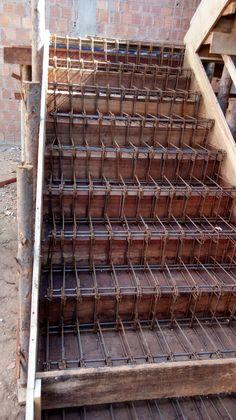 46 ideas exterior stairs design architecture front porches for 2019 Concrete Staircase, Concrete Steps, Modern Staircase, Concrete Design, Home Stairs Design, Railing Design, Bungalow House Design, House Front Design, Stairs Architecture