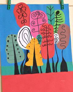 Tvoříme s dětmi ☺: Čarovný les...