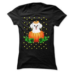 Maltese and Halloween T-Shirts, Hoodies. VIEW DETAIL ==► https://www.sunfrog.com/Pets/Maltese-and-Halloween.html?id=41382