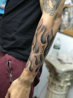 Tattoos, sleeve tattoos, flame tattoos, future tattoos, tattoos for Half Sleeve Tattoos Forearm, Cloud Tattoo Sleeve, Lion Tattoo Sleeves, Half Sleeve Tattoos For Guys, Forarm Tattoos, Full Sleeve Tattoo Design, Half Sleeve Tattoos Designs, Full Sleeve Tattoos, Tattoo Designs Men