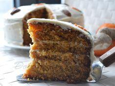 torta carote e zenzero