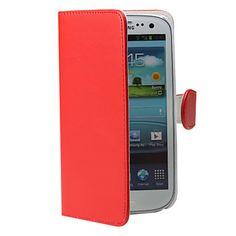 PU-Leren Telefoonhoes Voor Samsung Galaxy  3 i9300 – EUR € 4.59
