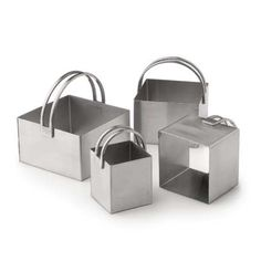 Pastry & Biscuit Cutters - Square Set