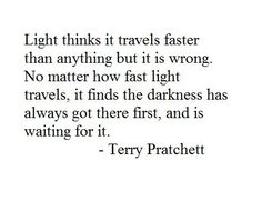 Light and Dark (terry pratchett)