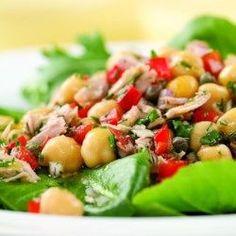 Mediterranean Tuna Antipasto Salad - EatingWell.com