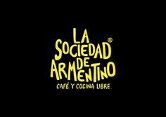 La sociedad de Armentino. Astronauta.  #Branding  #Identity #Graphicdesign #Logo