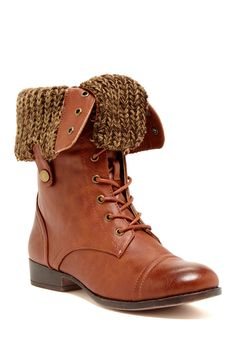 Elegant Saddy Foldover Boot on HauteLook