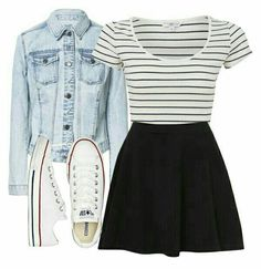 fall outfits with converse, Source by outfits with converse fall Cute Outfits For School, Cute Casual Outfits, Outfits For Teens, Church Outfit For Teens, Casual Church Outfits, School Skirt Outfits, Cute Outfits With Skirts, Church Outfit Summer, Cool Girl Outfits