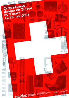 Flavia Cocchi Mudac museum design and contemporary applied arts Lausanne Lausanne, Design Art, Print Design, 28 Mai, Swiss Design, Brochure Cover, Design Museum, Art Museum, Cross Designs