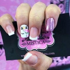 Nails  Mistica Nails Spa Pretty Nail Colors, Pretty Nail Designs, Pretty Nails, Nail Art Designs, Fancy Nail Art, Cute Nail Art, Fancy Nails, Really Cute Nails, Love Nails