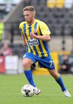 Jordan Clark, Notts County v Accrington Stanley. Copyright B&O Press Photo.