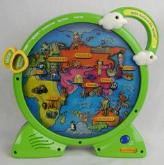 see n say kids around the world interactive geography language lights music mattel