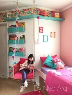 girl bedroom ideas - You'll find a huge collection of girls room designs with tips and pictures for every age from nurseries to teen girls bedrooms in all styles.