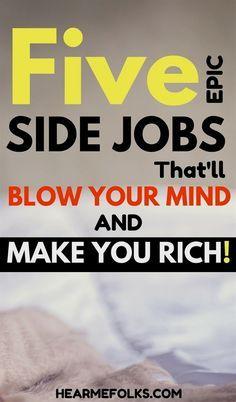 Earn Money From Home, Earn Money Online, Make Money Blogging, Online Jobs, Way To Make Money, Money Fast, Money Tips, Online Careers, Money Today