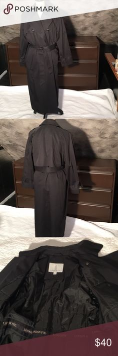London Fog Vintage Long Trench Coat London Fog Vintage Long Belted Trench Coat. Full quilt lining. Warm enough for most every season! London Fog Jackets & Coats Trench Coats
