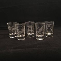 Bachelor Party Etched Custom Shot by stickemupBreeLee on Etsy