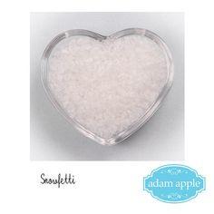 Snowfetti® Snow Effect Biodegradable Confetti 0.5 Litre Water Soluble