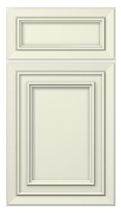 tuscany door style :: painted :: antique white #kitchen #cabinets #doors: