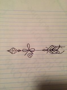 The tattoo i drew up the celtic symbol for strength with an arrow going through it the arrow. Arrows can only be shot by pulling it backward. When life is dragging you back by difficulties, it means it's going to launch you in to something great. So just focus and keep aiming.