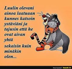 Aloittaa päiväsi hymy! The Way I Feel, How I Feel, Motivational Quotes, Funny Quotes, Life Quotes, Happy Friendship Day, More Words, Good Thoughts, Story Of My Life